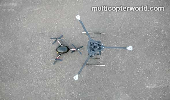 large-and-small-y6-hexacopter