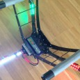 I have now made some navigation lights for my large Y6 multicopter. There is a standard for all vessels that says red light on left, green light on the right...
